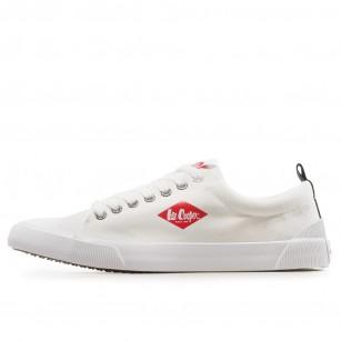 Мъжки спортни обувки Lee Cooper бели