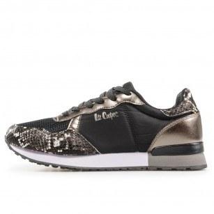 Дамски спортни обувки Lee Cooper LC-211-23 черни/сиви