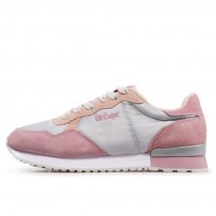 Дамски спортни обувки Lee Cooper LC-211-23 сиви/розови