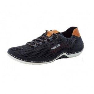 Мъжки спортни обувки Rieker MemoSoft сини 07555-14