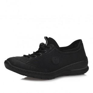 Дамски спортни обувки Rieker ANTISTRESS MemoSoft N22M6-00 черни
