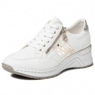 Дамски спортни обувки Rieker Antistress N4322-80 бели