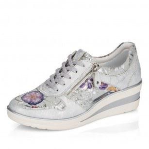 Дамски спортни обувки Remonte естествена кожа цветни R7213-92 ширина H