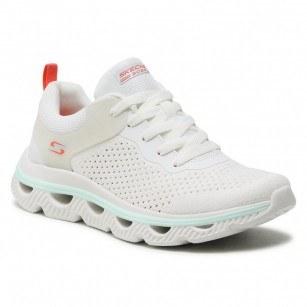 Дамски спортни обувки Skechers мемори пяна бели