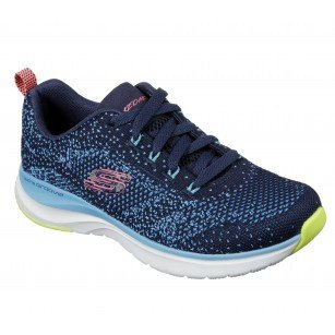 Дамски спортни обувки Skechers Ultra Groove мемори пяна сини