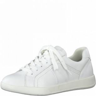 Дамски спортни обувки Tamaris естествена кожа бели Touch It