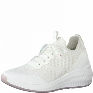 Дамски спортни обувки Tamaris Fashletics мемори пяна бели