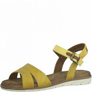 Дамски ежедневни сандали Tamaris Touch It® жълти