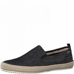 Мъжки спортни обувки без връзки S.Oliver черни