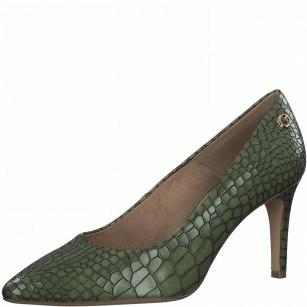 Елегантни дамски обувки с тънък ток S.Oliver So Flex Soft Foam зелени