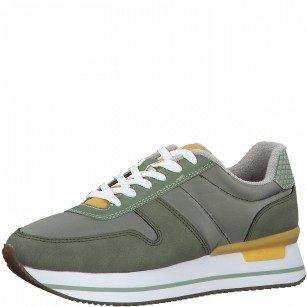 Дамски спортни обувки S.Oliver Soft Foam зелени