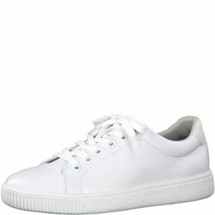 Дамски бели спортни обувки S.Oliver Soft Foam бели
