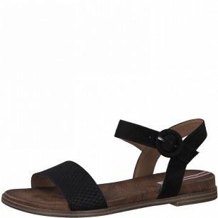 Дамски ежедневни сандали  S.Oliver Soft Foam черни