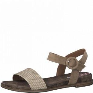 Дамски ежедневни сандали  S.Oliver Soft Foam бежови