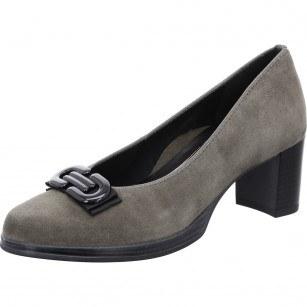 Дамски обувки Ara High Soft естествена кожа кафяви ширина Н