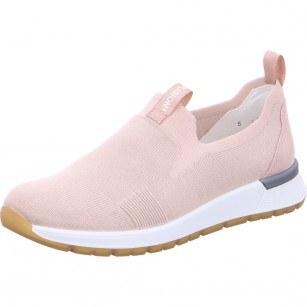 Дамски спортни обувки без връзки Ara High Soft пудра