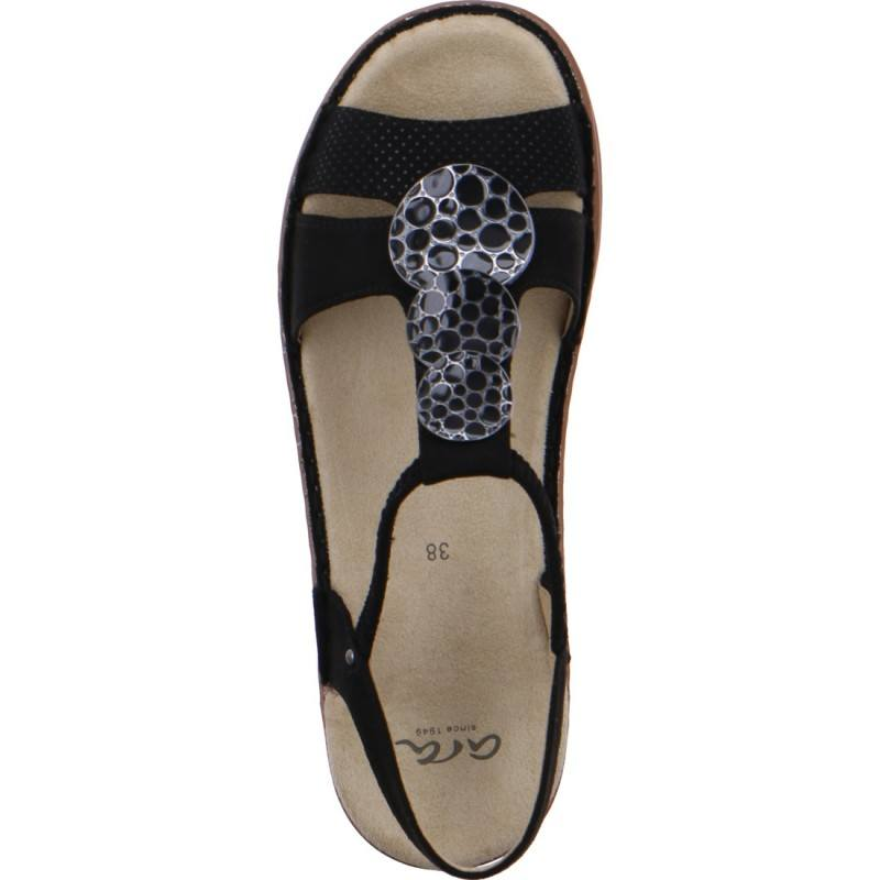 Дамски ежедневни сандали Ara черни