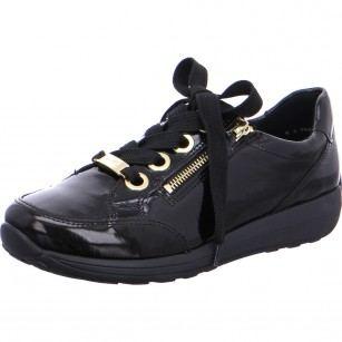 Дамски  спортни обувки Ara естествена кожа High Soft черни