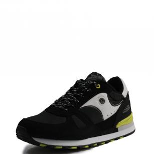 Мъжки спортни обувки с връзки В.Basile черни
