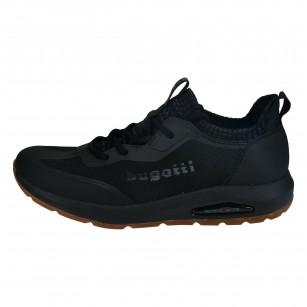 Мъжки обувки с връзки Bugatti® Vapor black