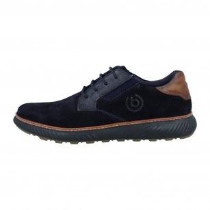 Мъжки eжедневни обувки с връзки Bugatti® Pramo сини