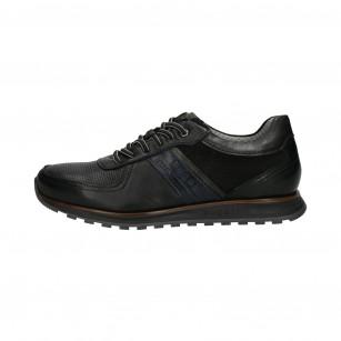Мъжки спортно-елегантни обувки Bugatti Cirino черни Ultimate Comfort
