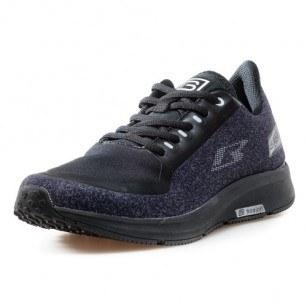 Мъжки обувки с връзки Bulldozer черни