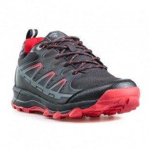 Мъжки маратонки Bulldozer черни/червени