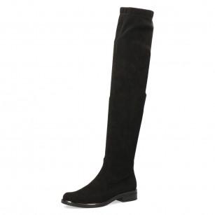 Дамски ботуши чизми Caprice черни