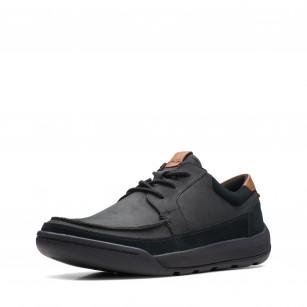 Мъжки обувки Clarks Ashkombe Craft естественa кожа черни