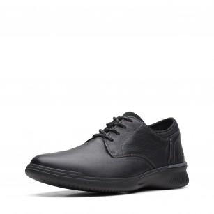 Мъжки обувки Clarks Donaway Plain естественa кожа черни