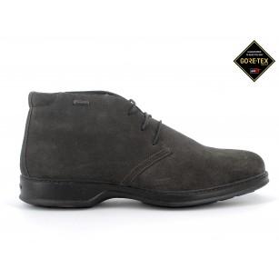 Мъжки обувки IGI & CO естествен велур GORE-TEX® НЕПРОМОКАЕМИ сиви
