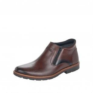 Мъжки обувки естествена кожа Rieker Antistress кафяви 15398-25