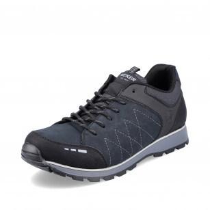 Мъжки ежедневни обувки с връзки Rieker Antistress B5720-01 черни/сини