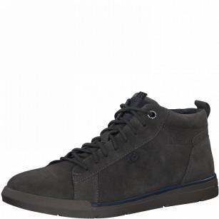 Мъжки обувки с връзки S.Oliver естествена кожа сиви