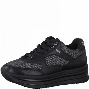 Дамски спортни обувки S.Oliver черни Soft Foam
