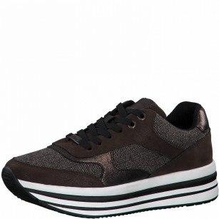 Дамски спортни обувки S.Oliver цвят Мока Soft Foam