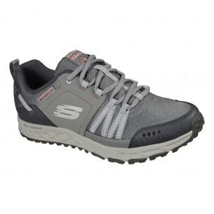 Мъжки спортни обувки Skechers Water Repellent бежови мемори пяна
