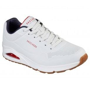 Мъжки спортни обувки  Skechers мемори пяна бели
