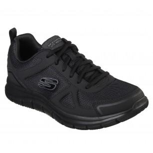 Мъжки спортни обувки с връзки Skechers Lite Weight мемори пяна черни