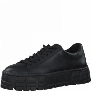 Дамски спортни обувки Tamaris на платформа Comfort Line Touch It черни