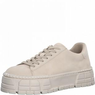 Дамски спортни обувки Tamaris на платформа Comfort Line Touch It крем