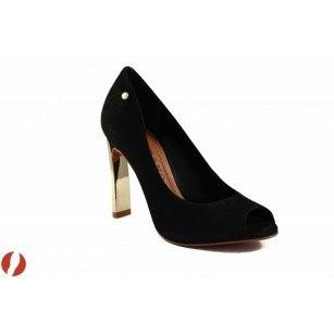 Елегантни дамски обувки на висок ток Carrano черни 11830701