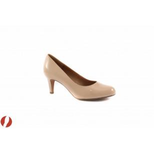 Дамски обувки на среден ток Clarks 20357723 Arista Abe