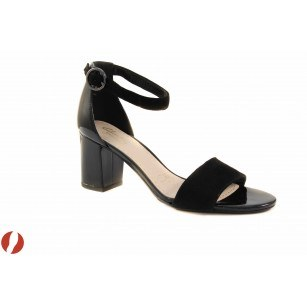 Дамски сандали на ток черни Clarks Susie Deva 20357759