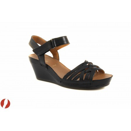 Дамски сандали на платформа черни Clarks Rusty Wish 26108517