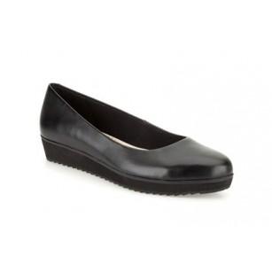 Дамски обувки на платформа Clarks Compass Zone черни