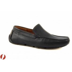 Мъжки обувки loafer черни Clarks Davont Drive