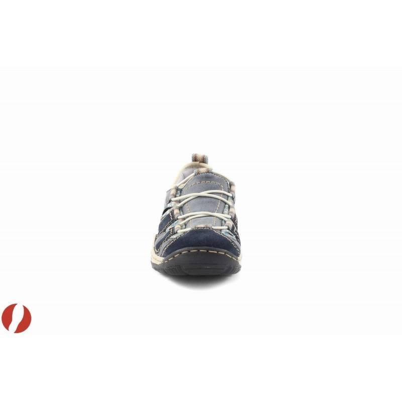 Дамски сини маратонки Rieker 055614
