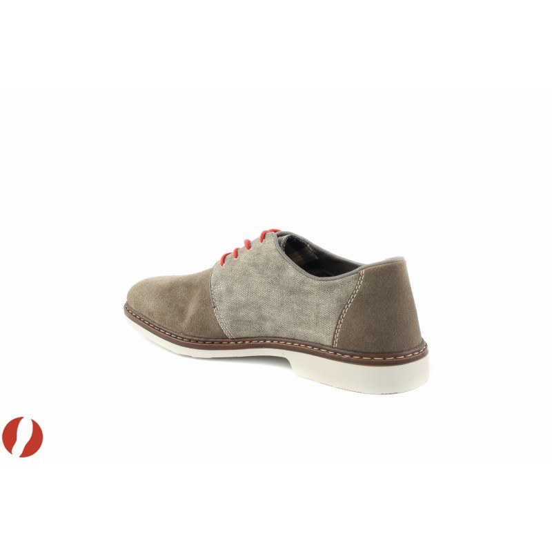 Мъжки пролетни обувки сиви Rieker 1300243